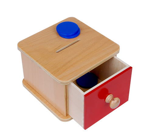 Imbucare Box With Slot and Discs (Coin Box) -  Imbucare Box With Slot and Discs (Coin Box)