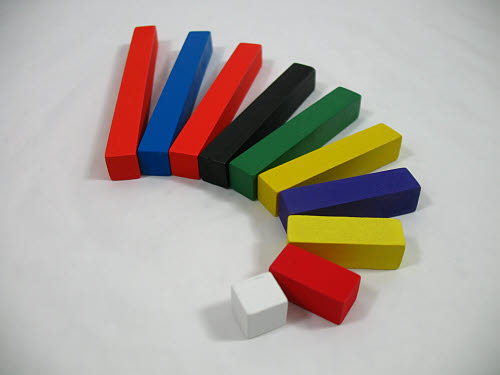 Short Colour Rods -