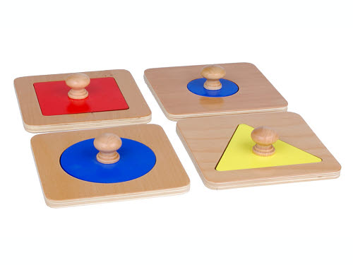 Shape Puzzles Individual - Set of 4 - Shape Puzzles Individual - Set of 4