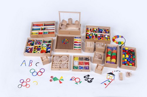 FROEBEL GIFTS - Complete 14 Activity Set -