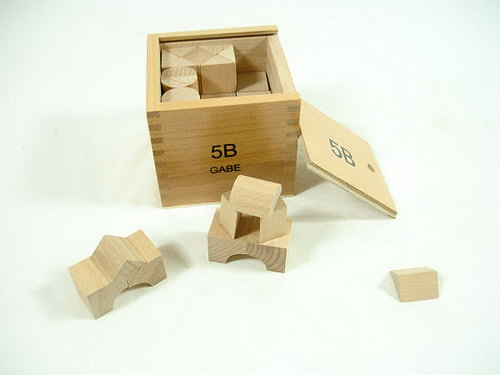 FROEBEL Third Block Series B -