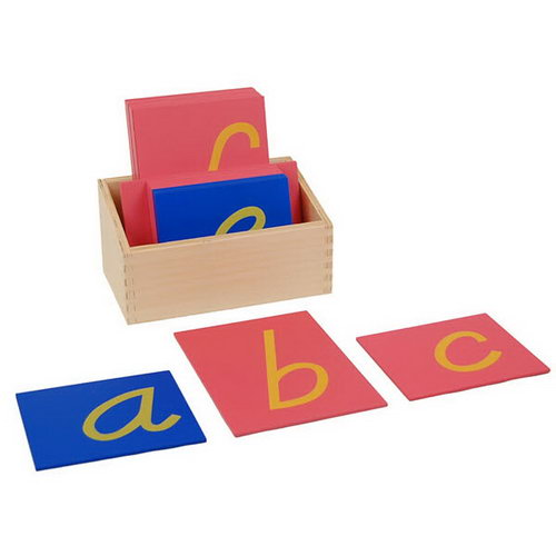 Sandpaper Letters - D'Nealian  Print - Sandpaper Letters - D'Nealian  Print