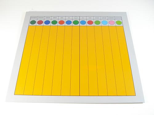 Decimal Fraction Material Chart - Decimal Fraction Material Chart