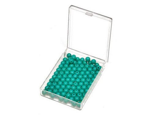 Bead Units set of 100 Green, Nylon -