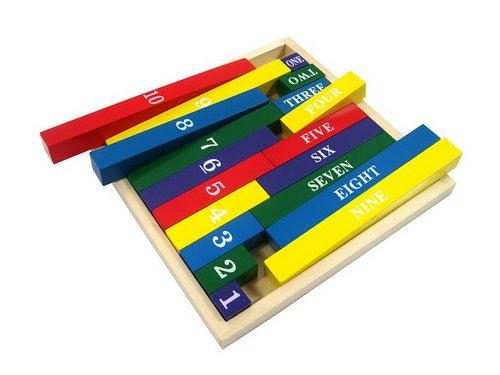 Numerical Name Sticks -
