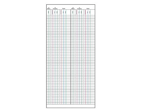 Large Bead Frame Working Sheets - Large Bead Frame Working Sheets