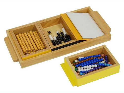 Multiplication Snake Game, Individual Beads -