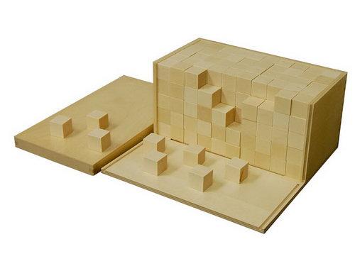 Volume Box with 250 Cubes - Volume Box with 250 Cubes