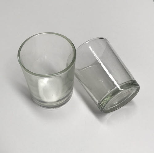 Glasses Miniature Tall Set of 2 -