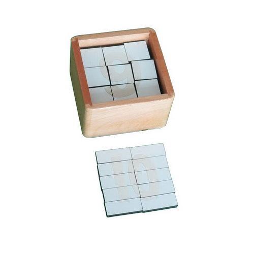 Number Puzzle Activity Box - Fruit Basket 12pcs