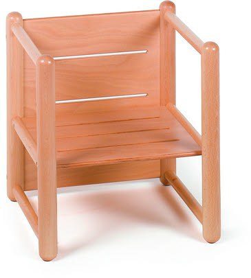 3 Way Multi Purpose Chair in Beech Wood - 3 Way Chair in Beech Wood