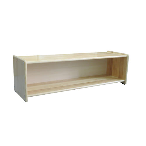 Montessori Toddler 2 Shelf Unit in Pinewood - Montessori Toddler 2 Shelf Unit in Pinewood
