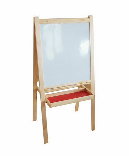 Easel Black & White Boards - In Pinewood - Easel Black & White Boards