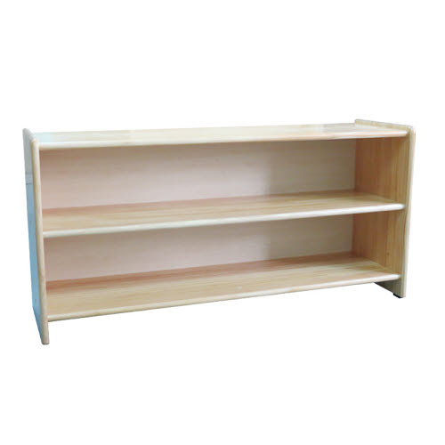Montessori Toddler/Child 3 Shelf Unit in Pinewood - Montessori Toddler/Child 3 Shelf Unit