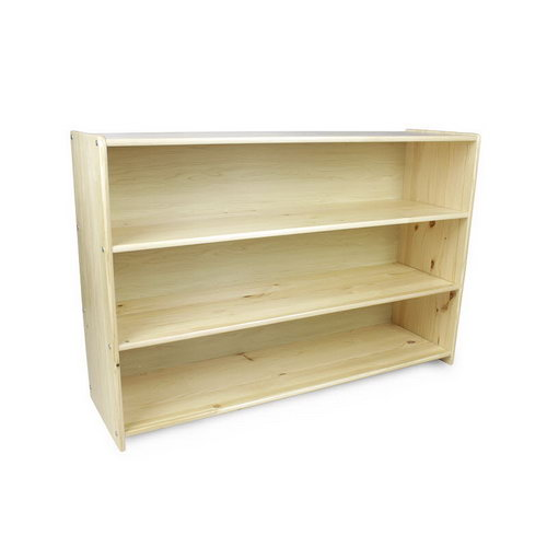 Montessori Child 4 Shelf Unit in Pinewood - Montessori Child 4 Shelf Unit in Pinewood