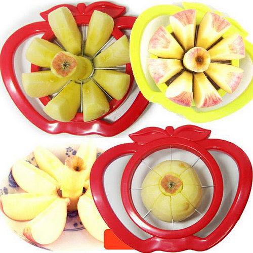 Apple Slicer - Plastic, Various Colours - Apple Slicer - Plastic, Various Colours