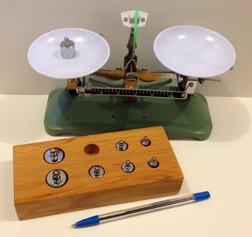 Mini Scales and Weights Set - Mini Scales and Weights Set