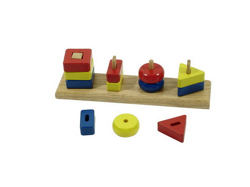 Shape Bricks on Shaped pegs - Shape Bricks on Shaped pegs
