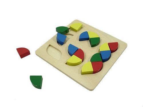 Various Shapes Colour Bricks Puzzle -