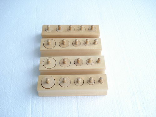 Mini Knobbed Cylinders - Mini Knobbed Cylinders