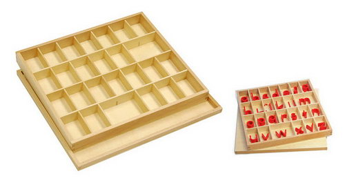 Movable Alphabet - Small Print Box - Movable Alphabet - Small Print Box