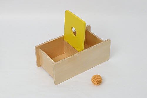 Imbucare Box Tray with Soft Ball - Imbucare Box Tray with Soft Ball