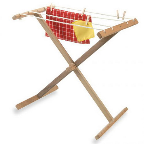Drying Clothes Horse - Beechwood Timber - Drying Clothes Horse - Beechwood Timber