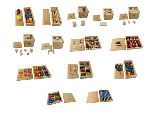 FROEBEL Complete Activity Set- A2Z Montessori Australia