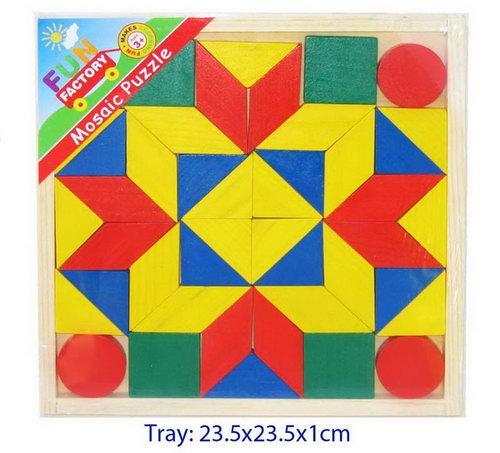 Mosaic Puzzle w/Instructions -