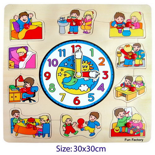 Puzzle Clock - Children -