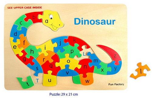 Puzzle Raised - Dinosaurs -