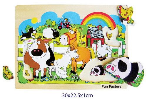 Puzzle Raised - Farm - Puzzle Raised - Farm
