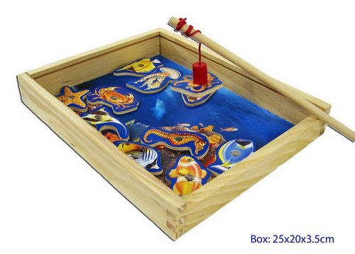 Fishing Game Magnetic Box With 1 Rod - Fishing Game Magnetic Box With 1 Rod