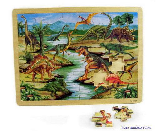 Dinosaurs - Jigsaw Puzzle 1 - 48 pcs - Dinosaurs - Jigsaw Puzzle 1