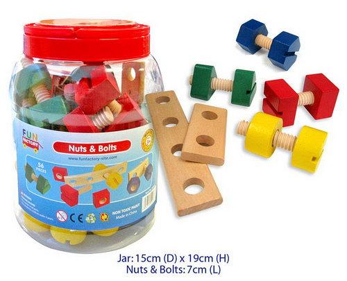 Nuts & Bolts in Jar - Nuts & Bolts in Jar