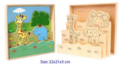 Animal Paint Set - Jungle -