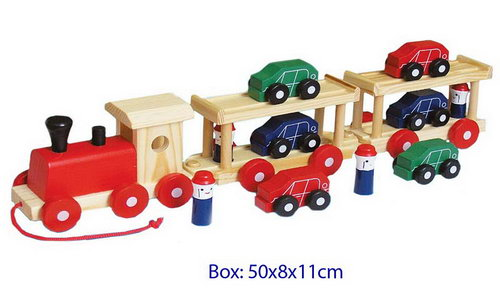 Semi Trailerw/6 cars/4 people -