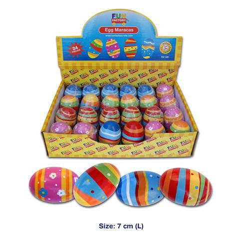 Egg Maracas (each) - Egg Maracas
