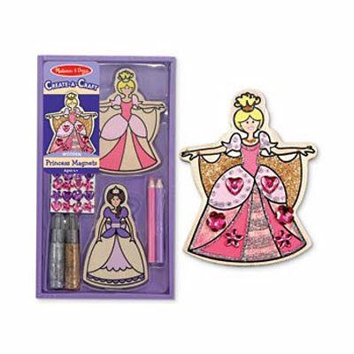 M&D - Create-A-Craft Princess Magnets -
