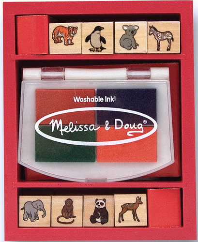 M&D - Baby Zoo Animals Stamp Set -