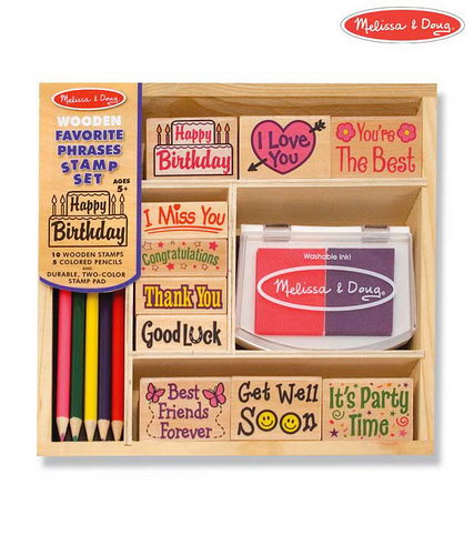M&D - Favourite Phrases Stamp Set -
