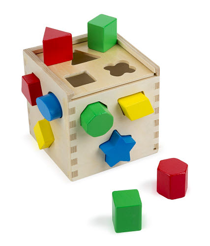 M&D - Shape Sorting Cube - Shape Sorting Cube