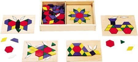 M&D - Pattern Blocks and Boards -