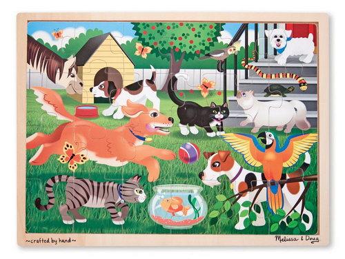 M&D - Pets At Play Jigsaw - 24pc - Pets At Play Jigsaw - 24pc