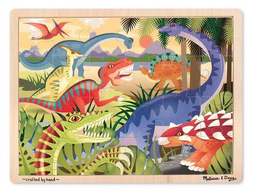 M&D - Dinosaurs Jigsaw - 24pc - M&D - Dinosaurs Jigsaw - 24pc