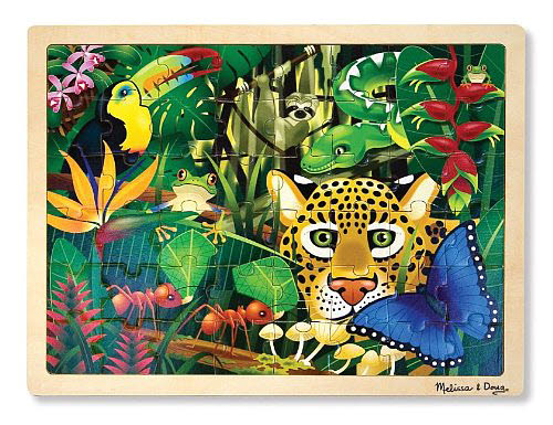 M&D - Rainforest Jigsaw - 48pc - Rainforest Jigsaw - 48pc