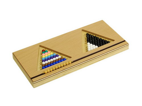 Bead Stair Tray - Double in Line, Beads not Included -