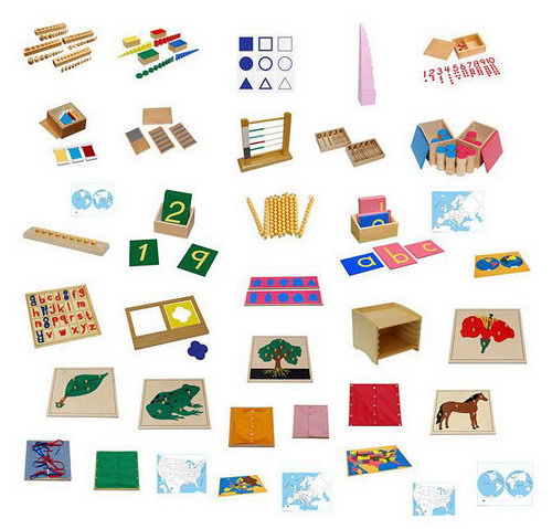 3-6 Montessori Full Classroom Package - Save over $2000 - 3-6 Montessori Full Classroom Package
