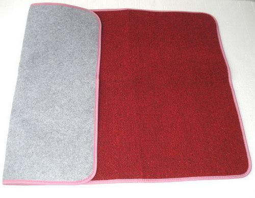 Carpet Mat for Individual Work - Large Red - Mat for Individual Work - Large Red
