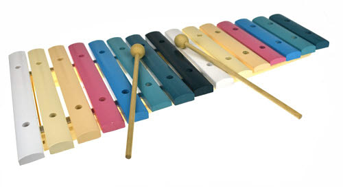 Xylophone Wooden 15 Tone - large -
